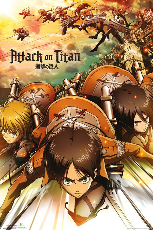 Attack on Titan Poster Pack Attack 61 x 91 cm (5)