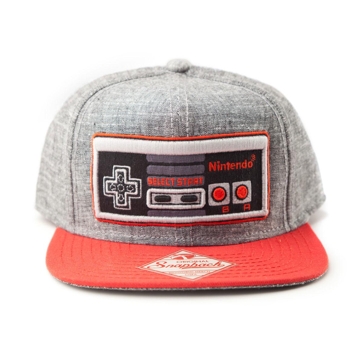 Nintendo Controller Snapback Cap (Denim)