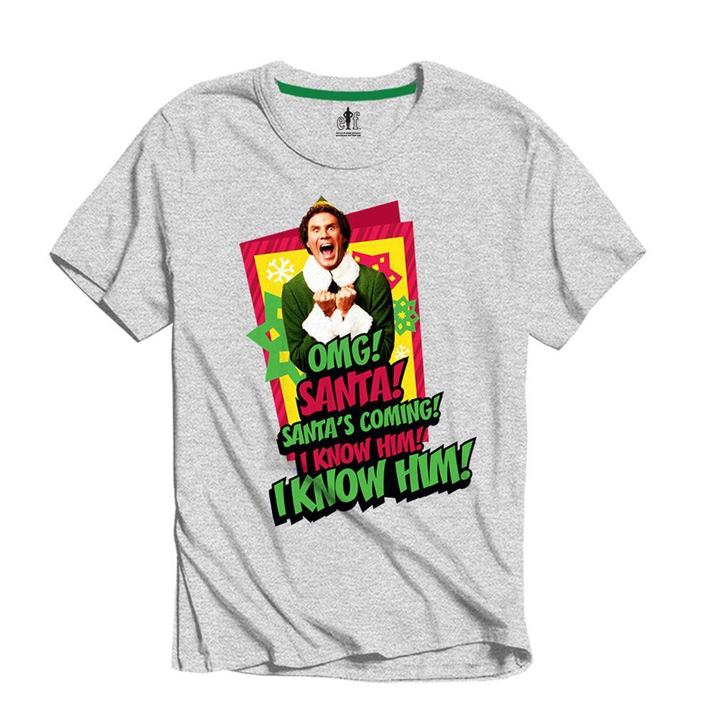 Elf T-Shirt I Know Him Size XL