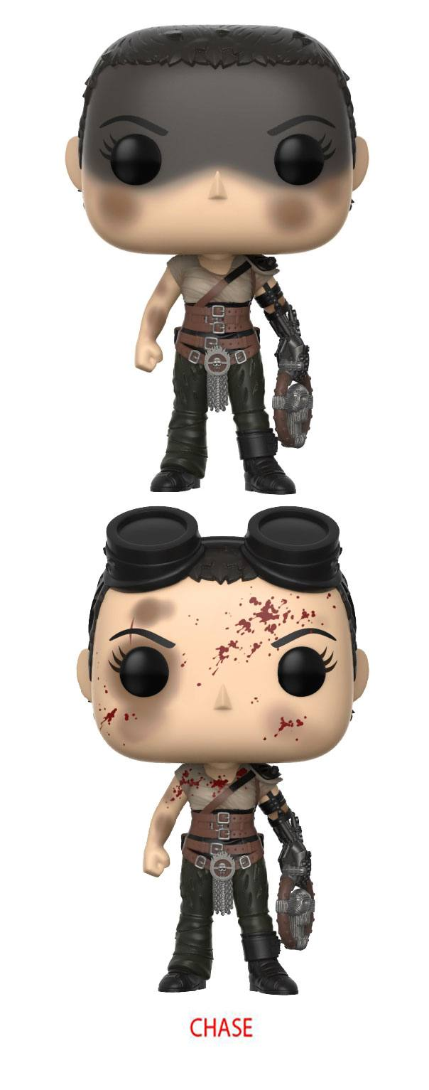 Mad Max Fury Road POP! Movies Vinyl Figures Furiosa 9 cm Assortment (6)
