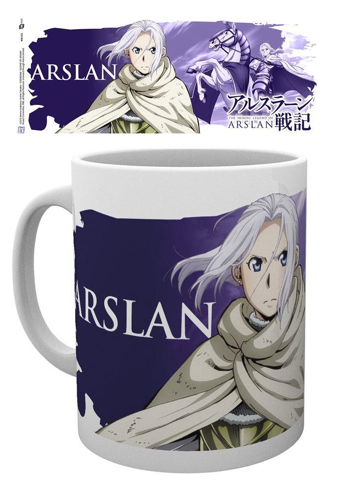 Heroic Legend of Arslan Mug Arslan