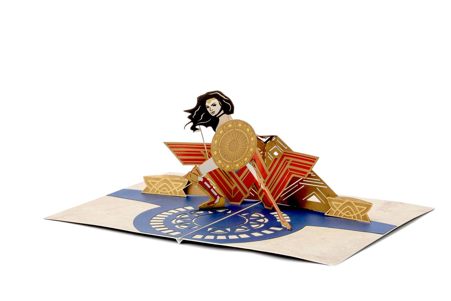 DC Comics 3D Pop-Up Greeting Card Wonder Woman