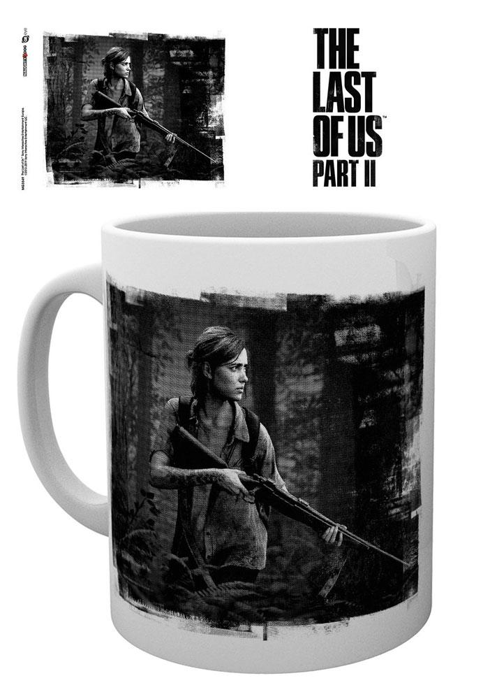 The Last of Us Part II Mug Black and White