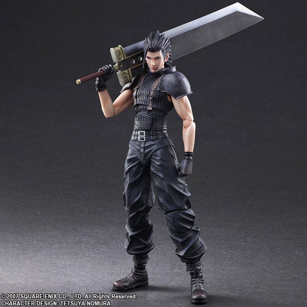 Crisis Core Final Fantasy VII Play Arts Kai Action Figure Zack 27 cm