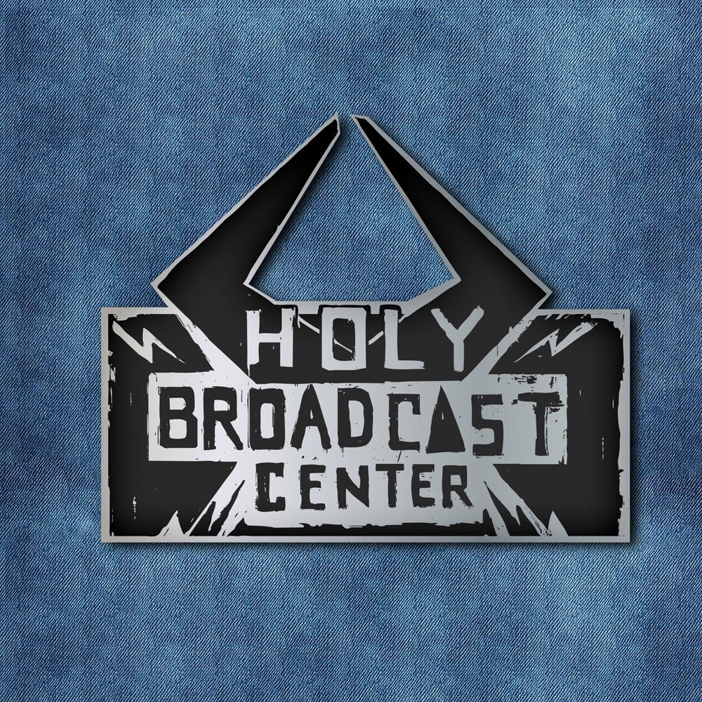 Borderlands 3 Pin Badge Holy Broadcast Center