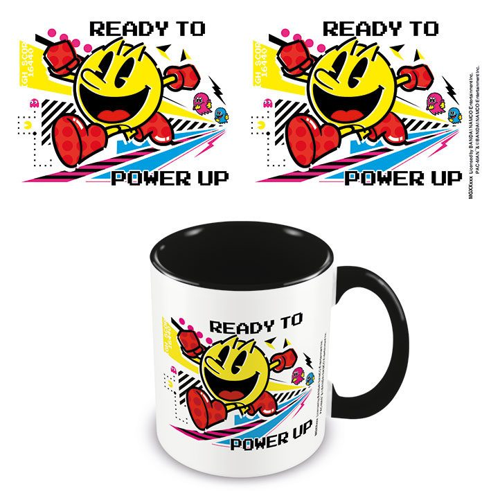 Pac-Man Coloured Inner Mug Power Up