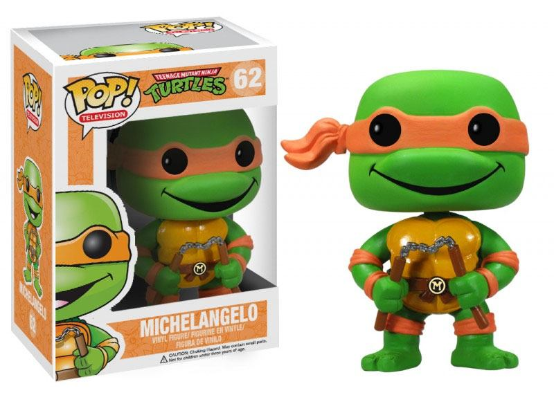 Teenage Mutant Ninja Turtles POP! Vinyl Figure Michelangelo 10 cm