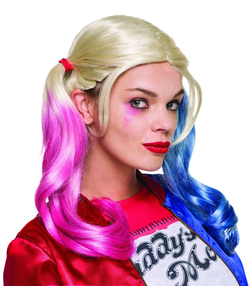 Suicide Squad Wig Harley Quinn