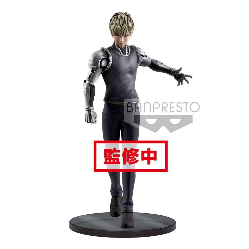 One Punch Man DXF PVC Statue Genos 20 cm