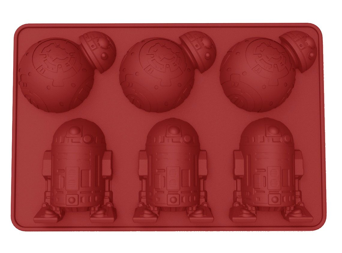 Star Wars Ice Cube Tray BB-8 & R2-D2