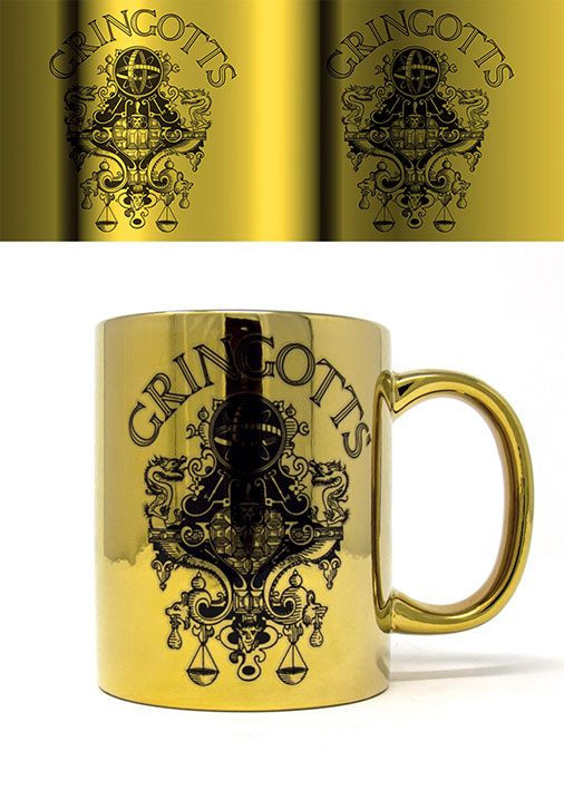Harry Potter Metallic Mug Gringotts