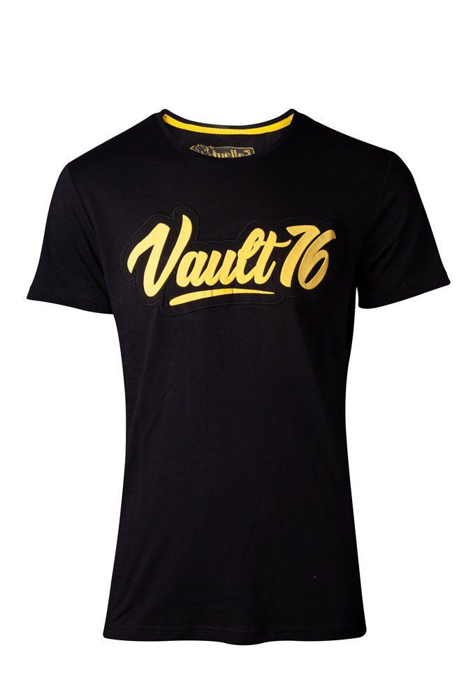 Fallout 76 T-Shirt Oil Vault 76  Size XL