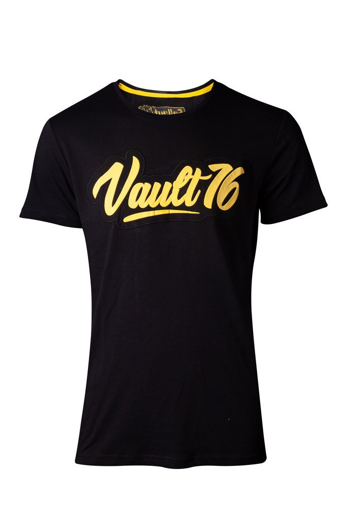 Fallout 76 T-Shirt Oil Vault 76  Size S