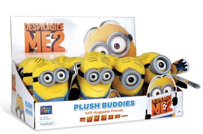 Despicable Me 2 Plush Figure 13 cm Minion Buddies Display (12)