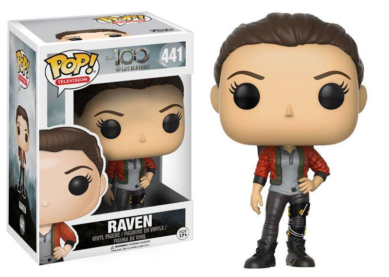 The 100 POP! Television Vinyl Figure Raven 9 cm