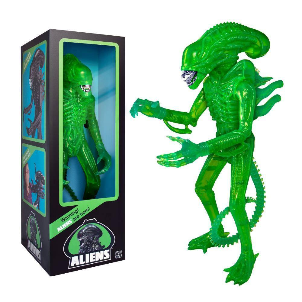 Aliens Super Size Action Figure Alien Warrior Classic Toy Edition (1986 Acid Green) 46 cm