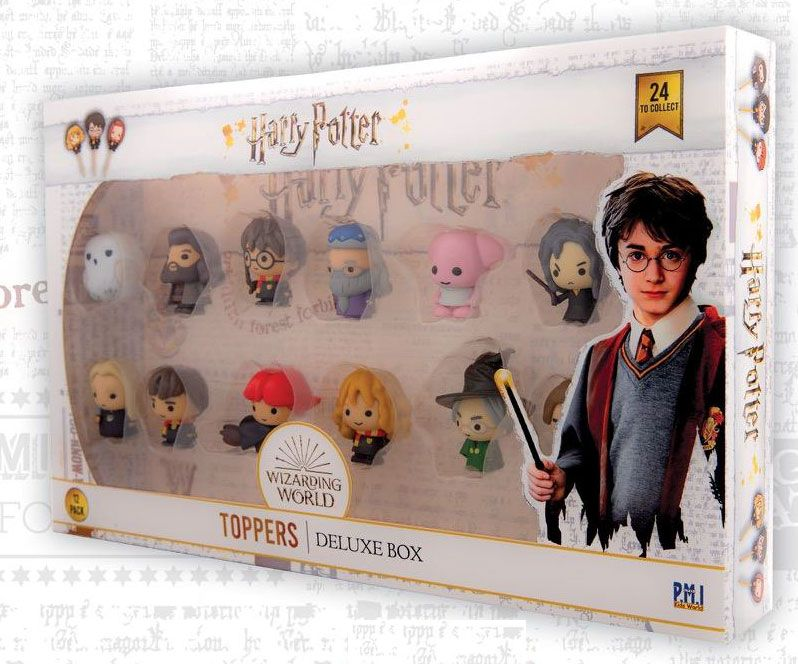 Harry Potter Toppers 4 cm 12-Packs Assortment (6)