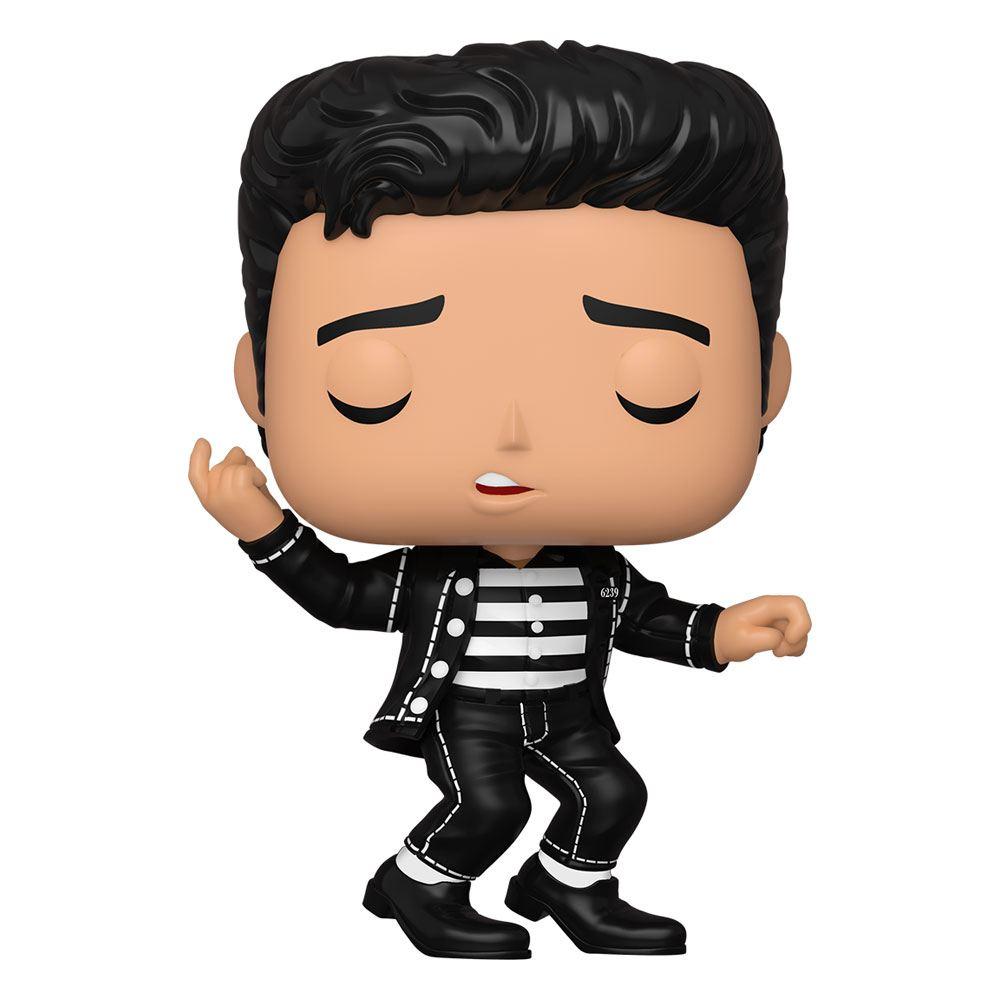 Elvis Presley POP! Rocks Vinyl Figure Elvis - Jailhouse Rock 9 cm