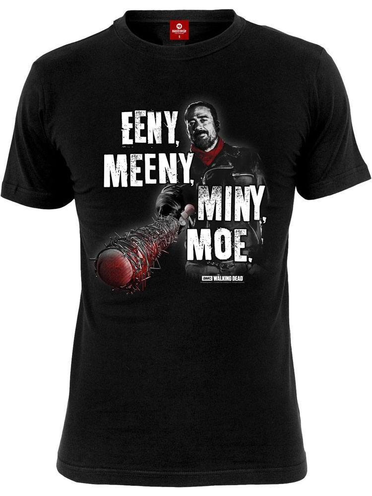 Walking Dead T-Shirt Eeny Meeny Miny Moe Size S