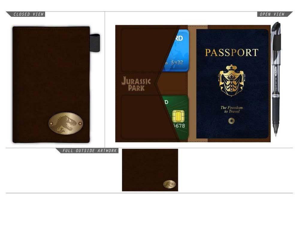 Jurassic Park Wallet & Passport Booklet Logo