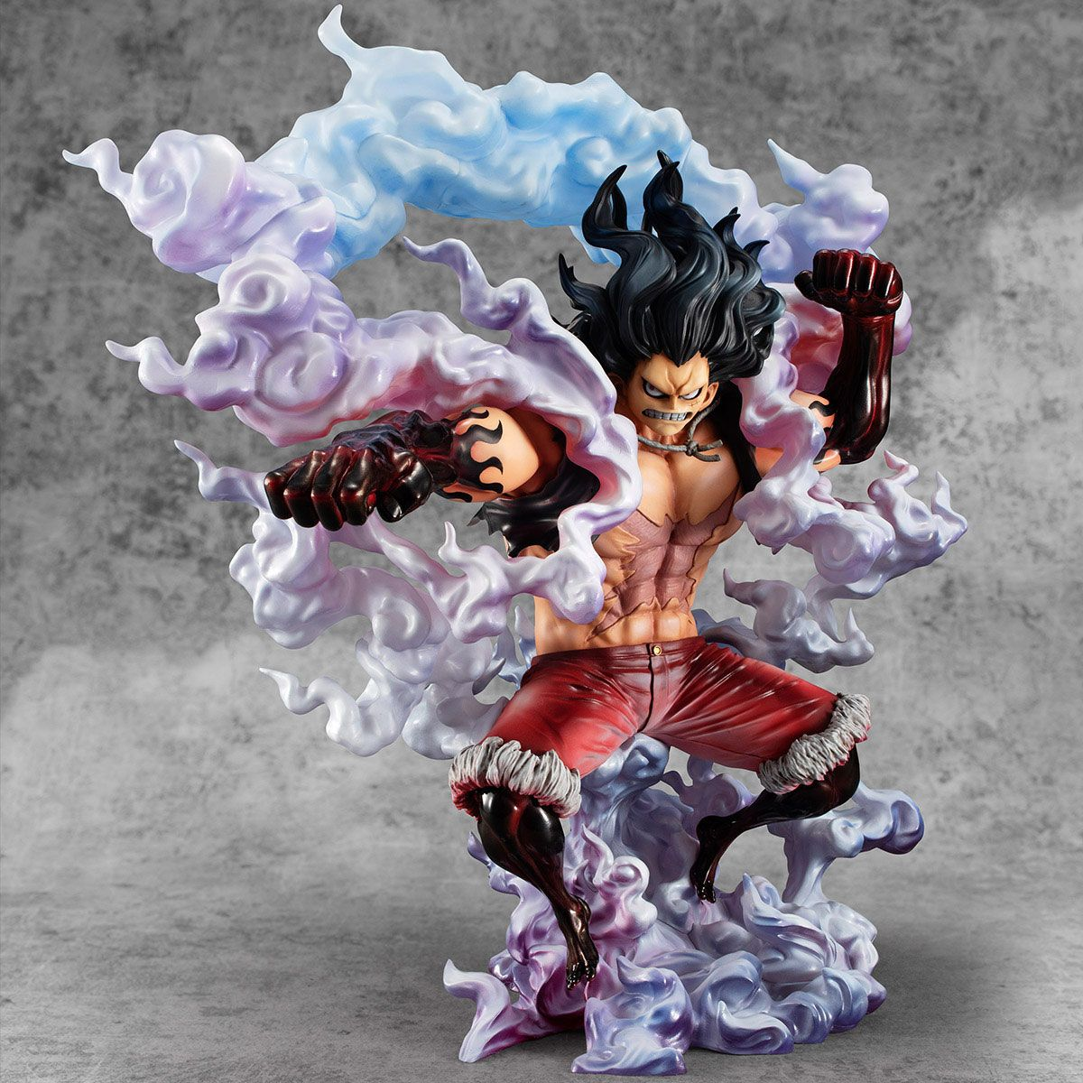 One Piece Excellent Model P.O.P PVC Statue 1/8 SA-Maximum Monkey D. Luffy Gear 4 Snake Man 26 cm