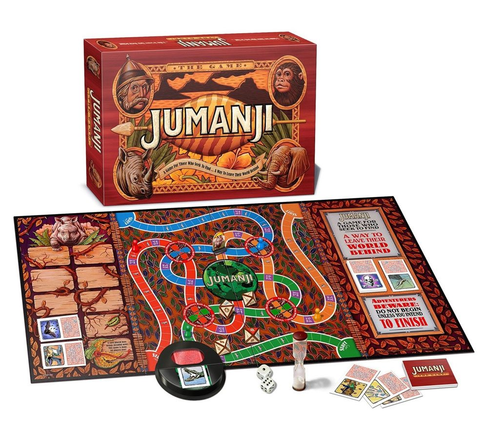 Jumanji Board Game *English Version*