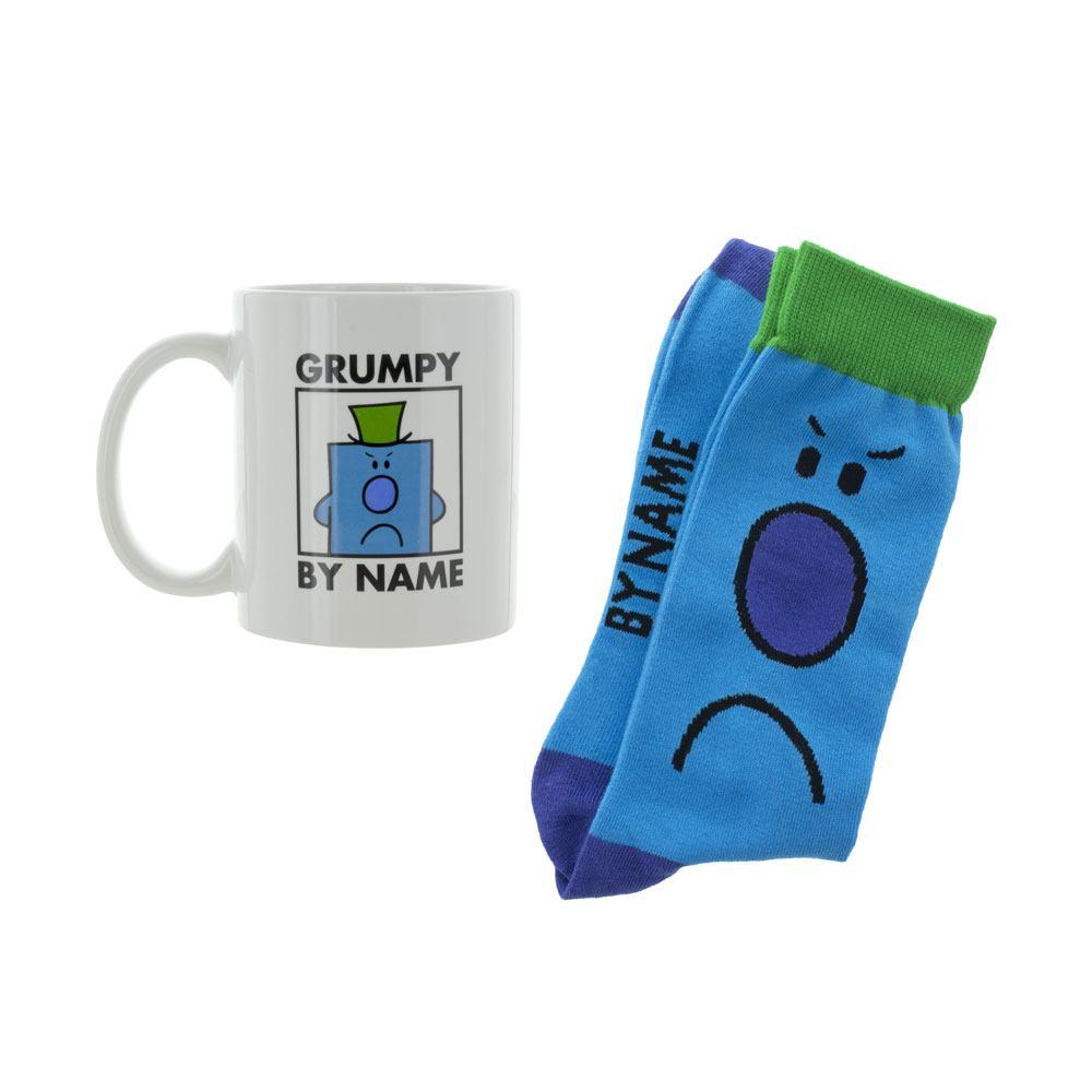 Mr. Men Little Miss Mug & Socks Set Mr. Grumpy