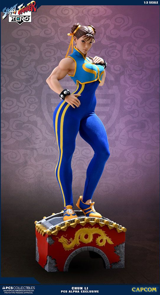 Street Fighter Alpha Statue 1/3 Chun Li Alpha Exclusive 73 cm