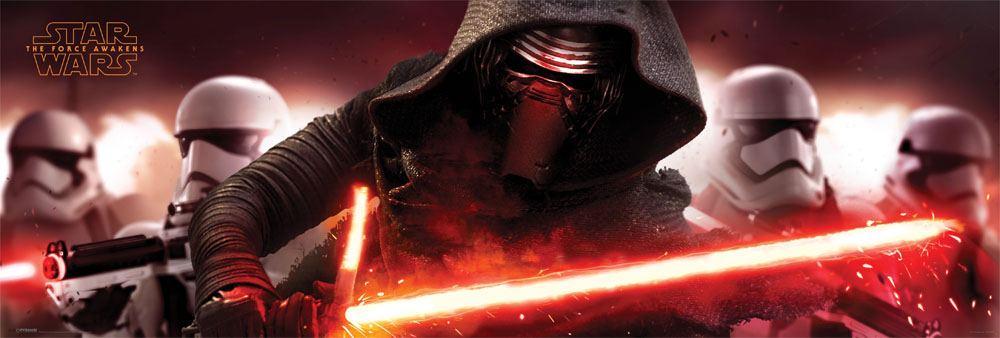 Star Wars Episode VII Door Poster Pack Kylo Ren and Stormtroopers 158 x 53 cm (3)