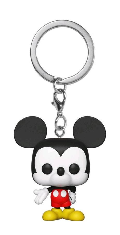 Mickey Maus 90th Anniversary Pocket POP! Vinyl Keychain Mickey Mouse 4 cm