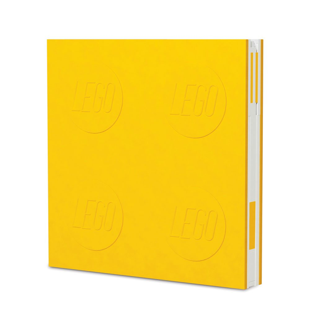 LEGO Notebook with Pen Yellow