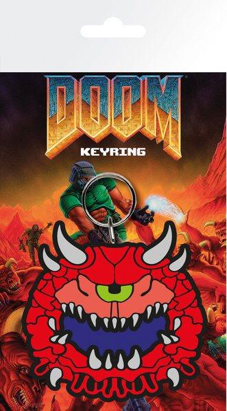 Doom Rubber Keychain Cacodemon 7 cm