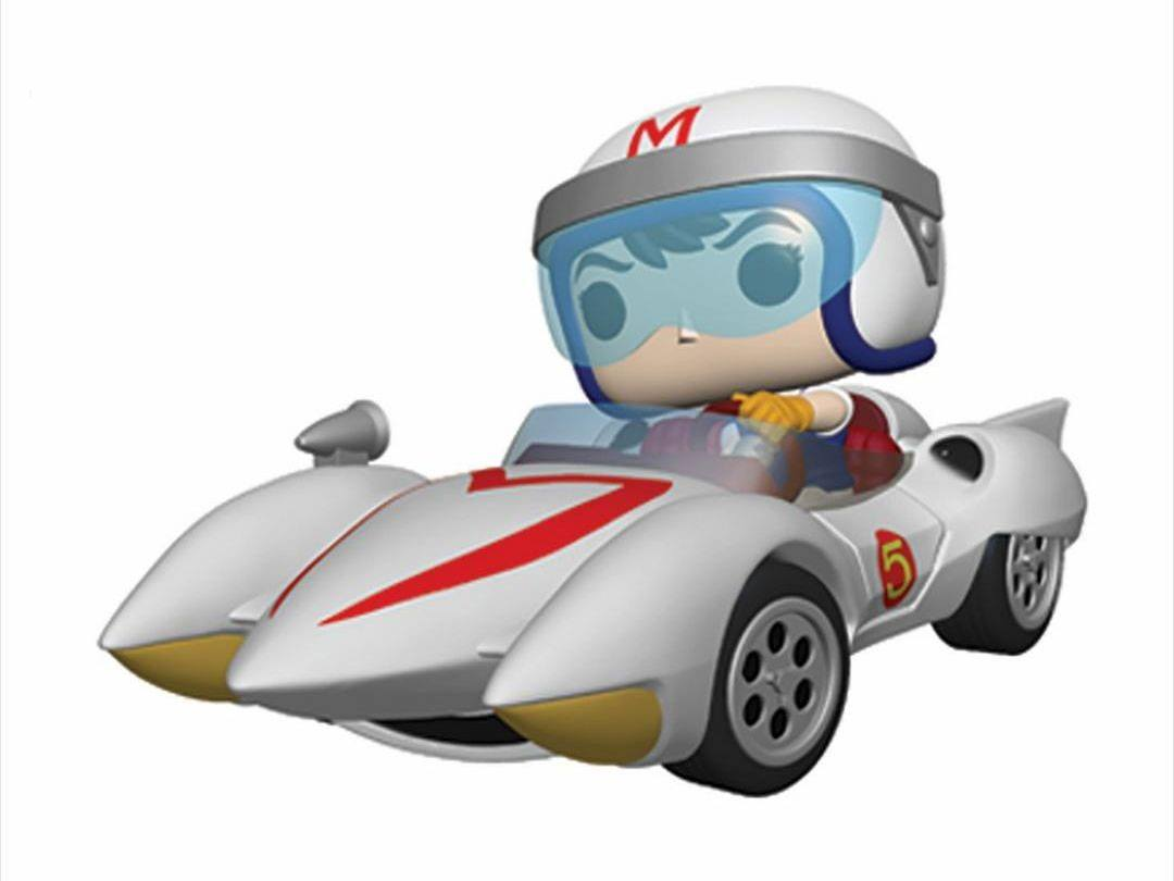 Speed Racer POP! Rides Vinyl Figure Speed w/Mach 5 18 cm
