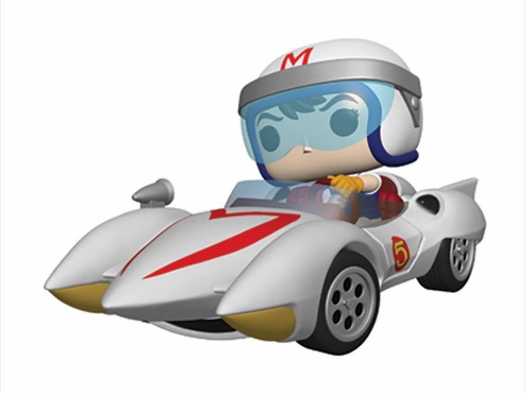 Speed Racer POP! Rides Vinyl Figure Speed w/Mach 5 18 cm