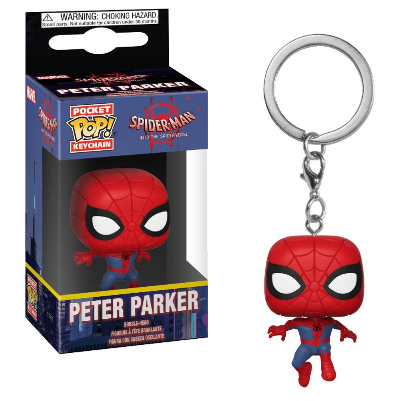 Spider-Man Animated Pocket POP! Vinyl Keychain Spider-Man 4 cm