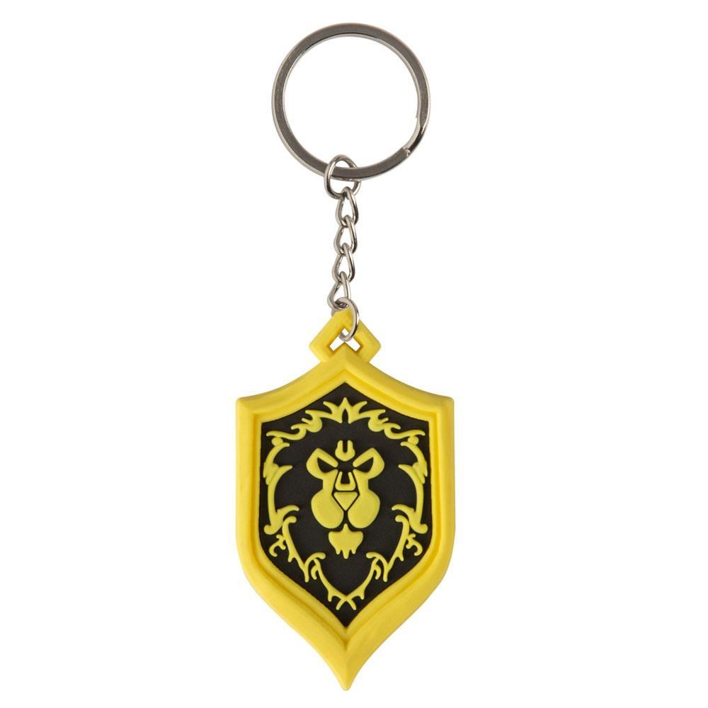 World of Warcraft Rubber Keychain Alliance Pride 4 cm