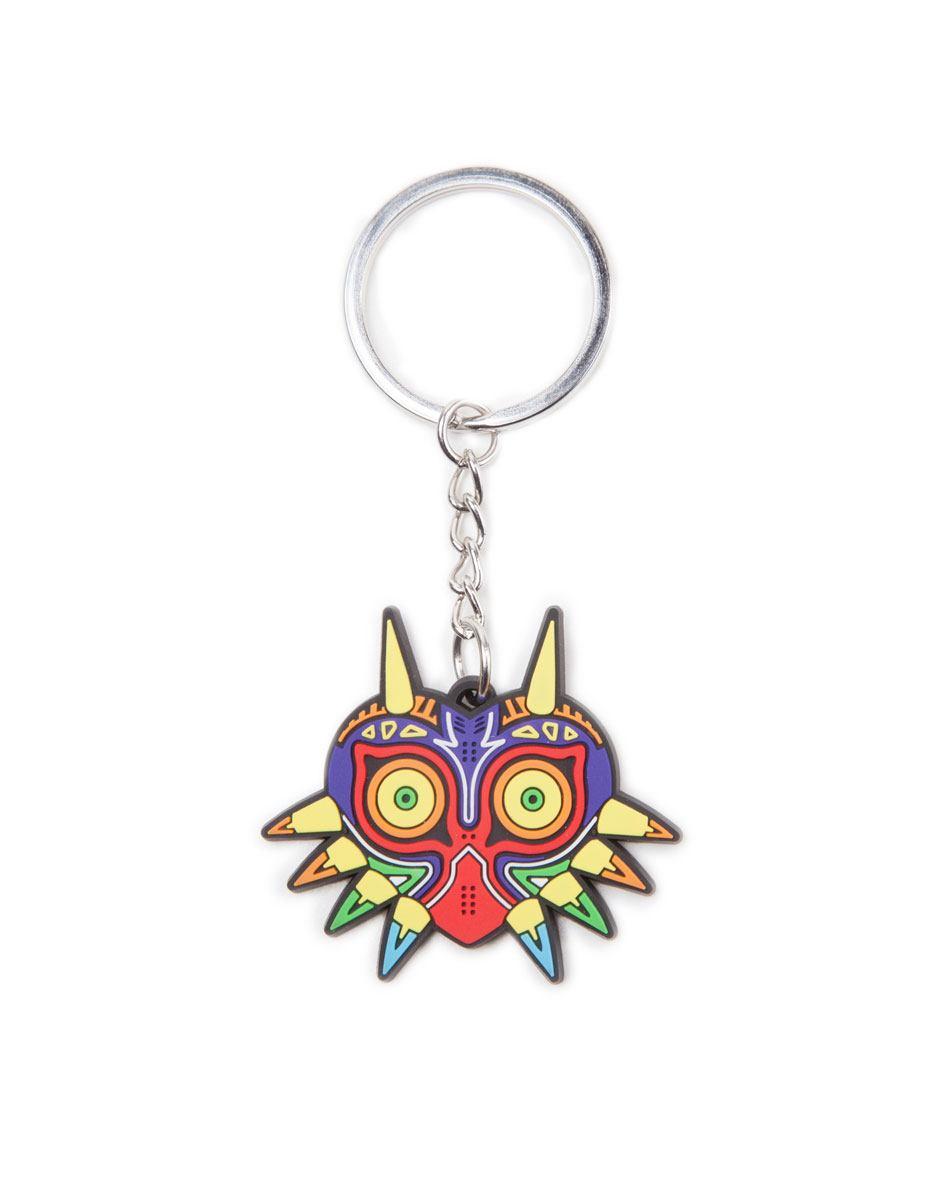 The Legend of Zelda Rubber Keychain Majora's Mask 7 cm