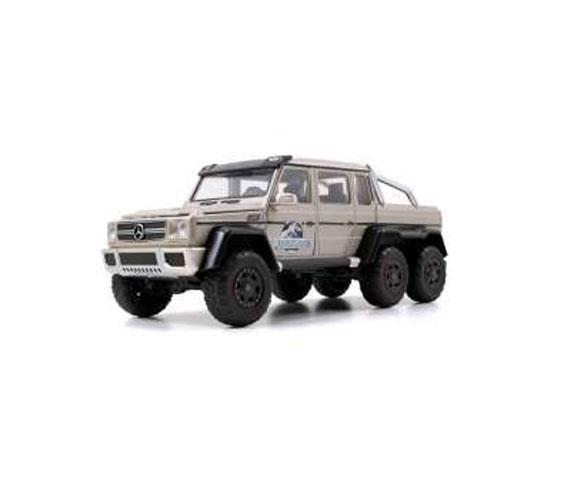 Jurassic World Diecast Model 1/24 2015 Mercedes G63 AMG 6X6