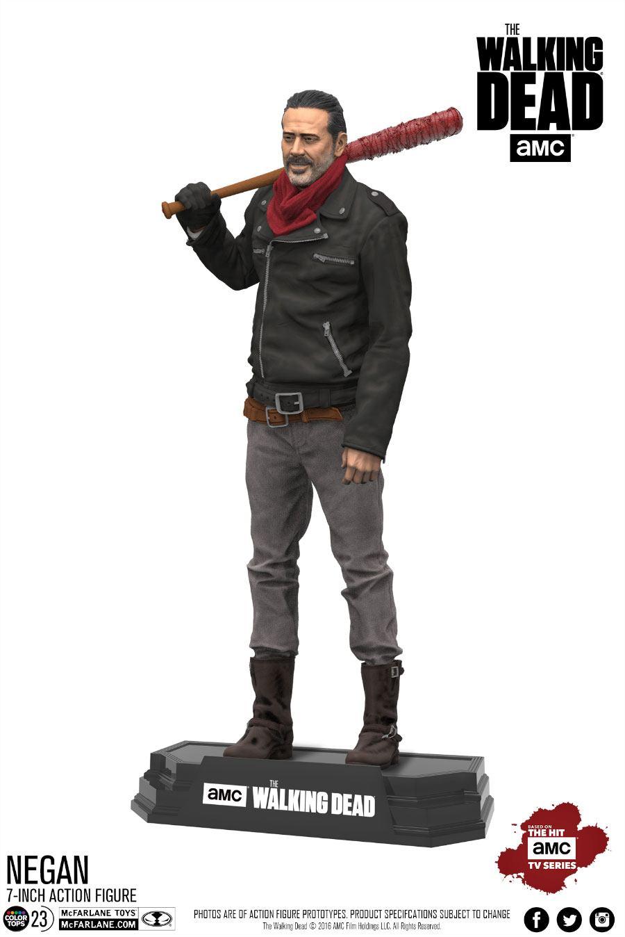 The Walking Dead TV Version Action Figure Negan 18 cm