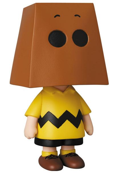 Peanuts UDF Series 10 Mini Figure Charlie Brown Grocery Bag Version 9 cm