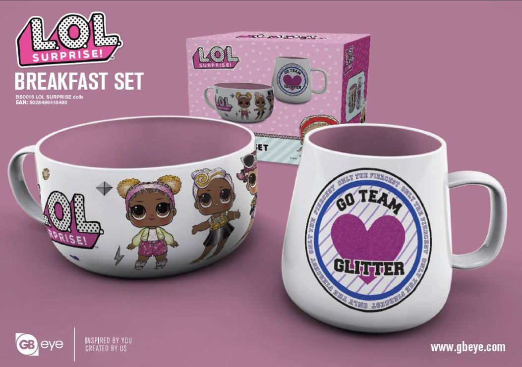 L.O.L. Surprise! Breakfast Set Dolls