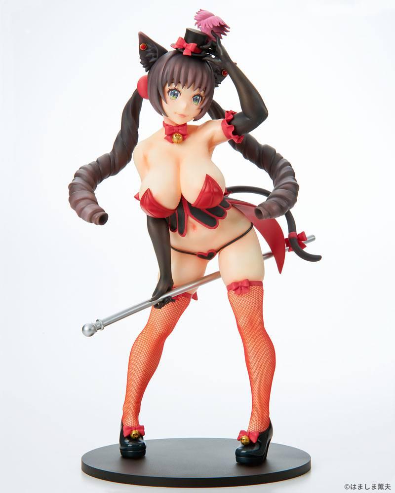 Burlesque Cat PVC Statue 1/7 Bell Black Cat Ver. 25 cm