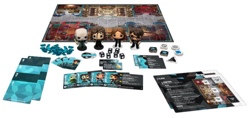 Harry Potter Funkoverse Board Game 4 Character Base Set *English Version* --- DAMAGED PACKAGING