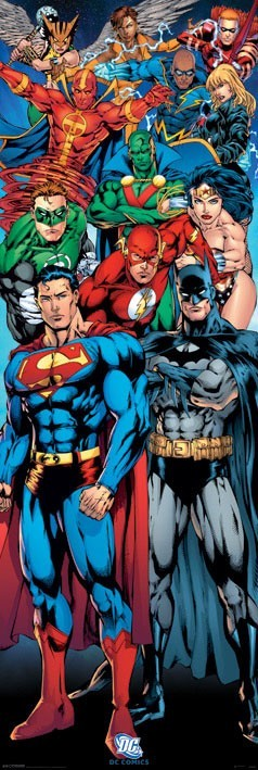 DC Comics Poster Pack Justice League 158 x 53 cm (3)