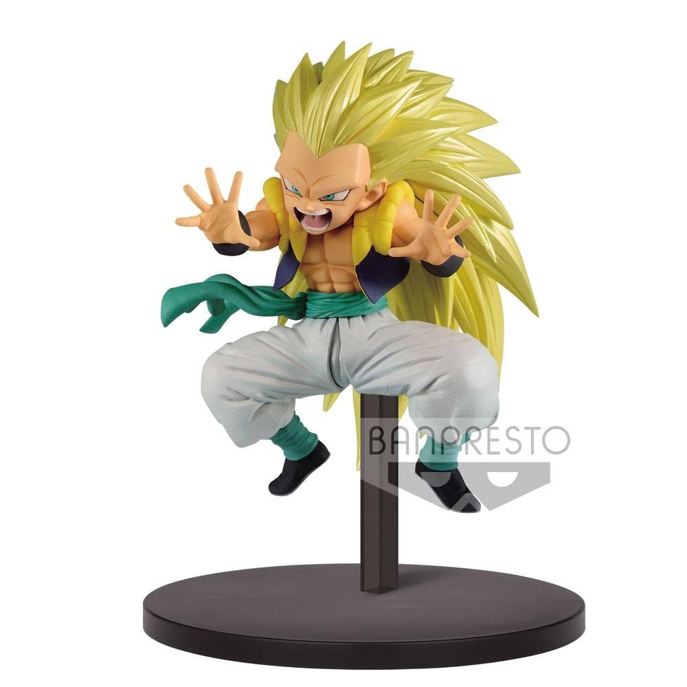 Dragon Ball Super Chosenshiretsuden PVC Statue Super Saiyan 3 Gotenks 10 cm