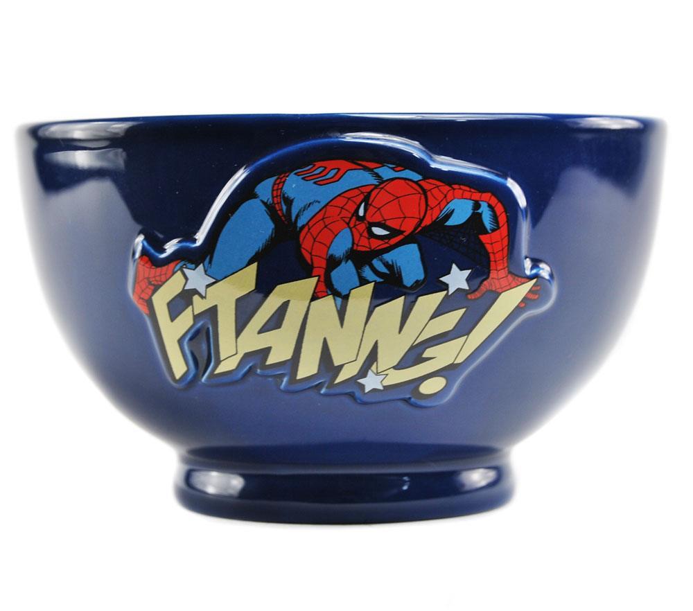 Marvel Comics Embossed Bowl Spider-Man Case (6)