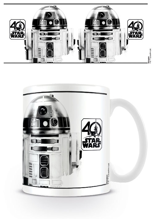 Star Wars Mug 40th Anniversary (R2-D2)