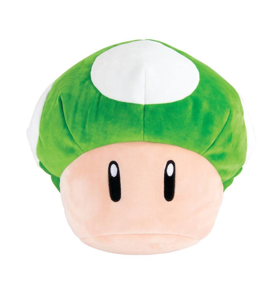 Mario Kart Mocchi-Mocchi Plush Figure 1-Up Mushroom 36 cm
