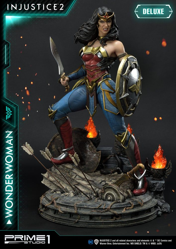 Injustice 2 Statue 1/4 Wonder Woman Deluxe Version 52 cm