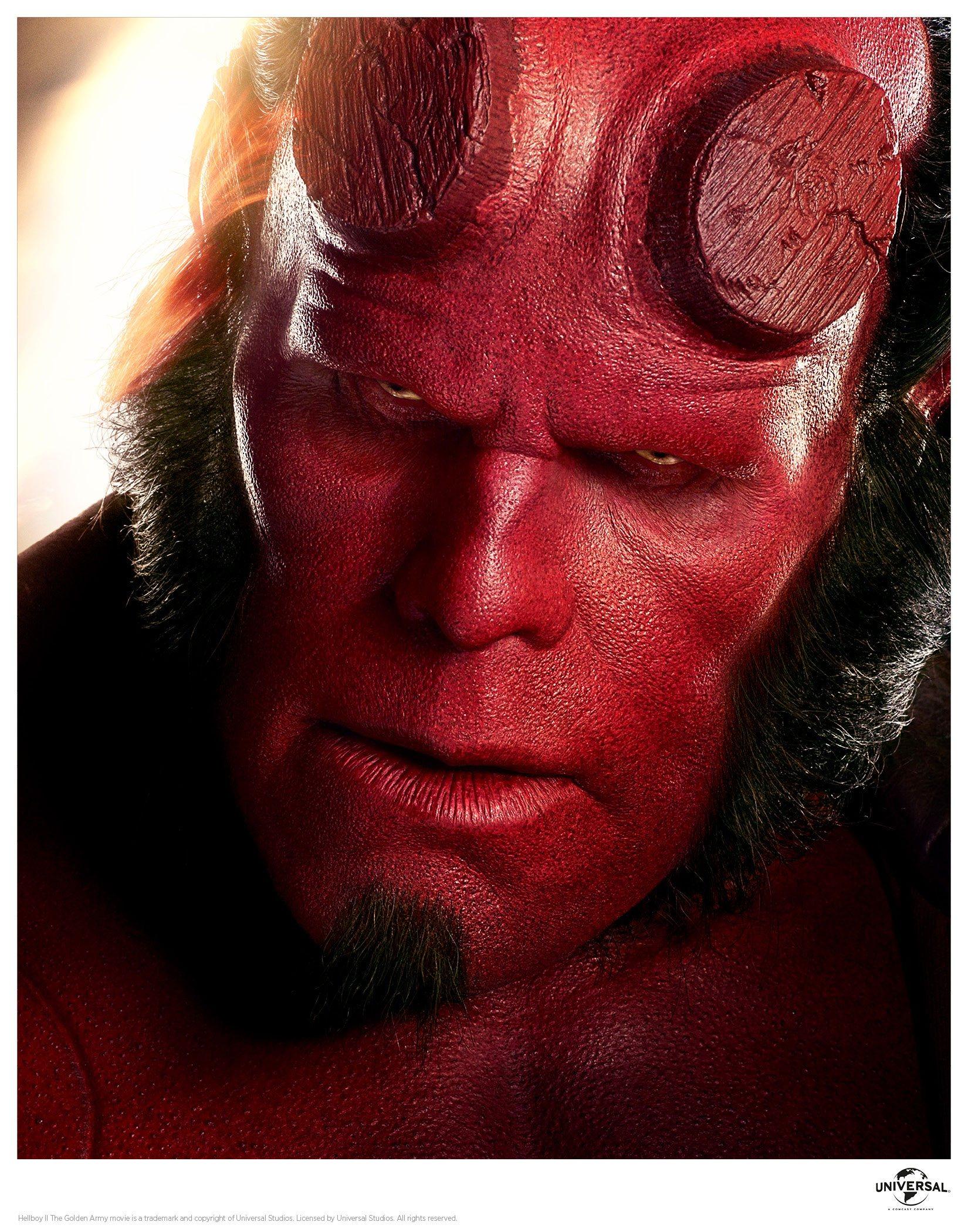 Hellboy Art Print Close Up 35 x 28 cm